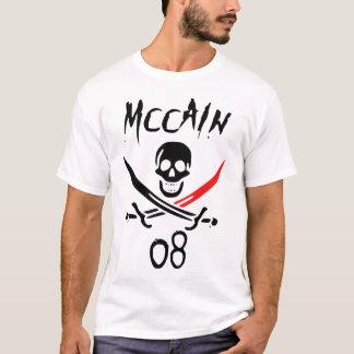 Jolly McCAIN 08 }Blood Tip{ Blackbeard T-Shirt
