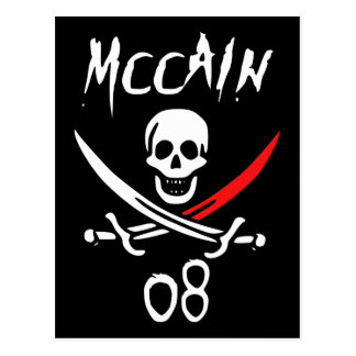 Jolly McCAIN 08 {Blood Tip} Postcard
