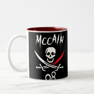 Jolly McCAIN 08 {Blood Tip} Two-Tone Coffee Mug
