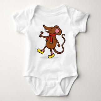 Jolly Mouse Baby Bodysuit