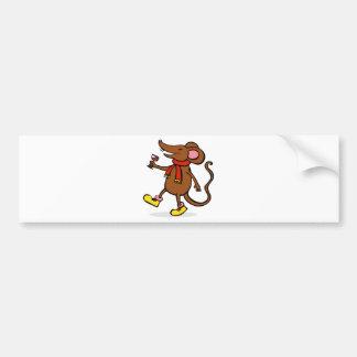 Jolly Mouse Bumper Sticker