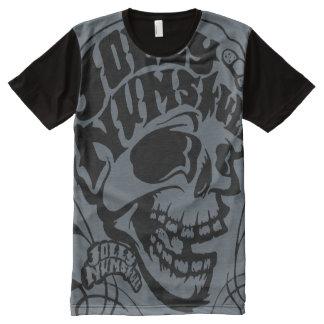 Jolly NumSkull Oversize Print All-Over-Print Shirt