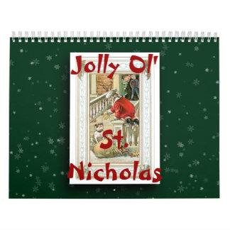 Jolly Ol' St. Nicholas 2014 Calendar