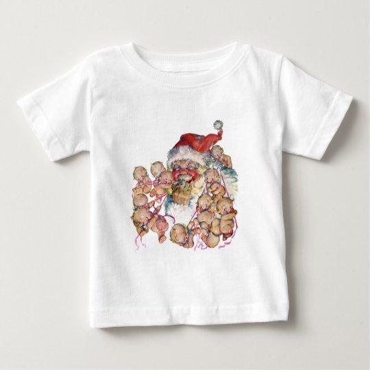 Jolly Old Saint Nick Baby T-Shirt