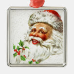 Jolly Old Saint Nick Christmas Tree Ornament