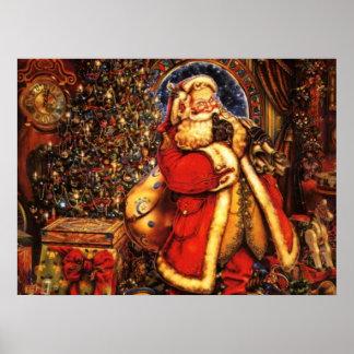 Jolly Old Saint Nick Print