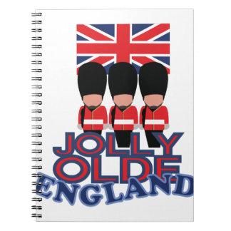 Jolly Olde England Spiral Notebook