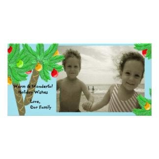 Jolly Palm Trees/ Photo Greeting Card