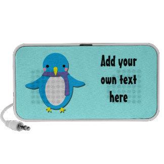 Jolly Penguin Customisable Doodle Speaker