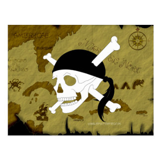 Jolly Roger #1 Postcard