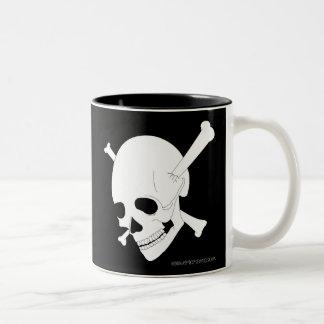 Jolly Roger #3 Two-Tone Coffee Mug