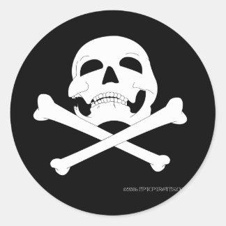 Jolly Roger #4 Classic Round Sticker