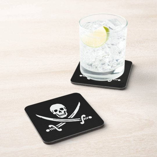 Jolly Roger Beverage Coaster