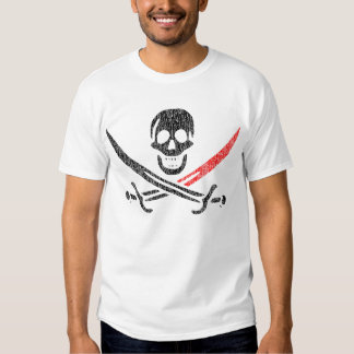 Jolly Roger BloodTip Vintage Blackbeard T Shirt