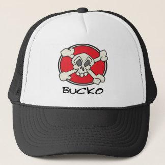 Jolly Roger Bucko design Trucker Hat