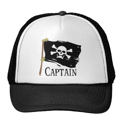 Jolly Roger Captain Mesh Hat