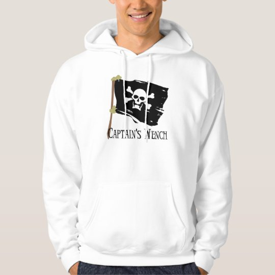 Jolly Roger Captain's Wench Hoodie