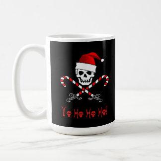 Jolly Roger Christmas Pirate Mug