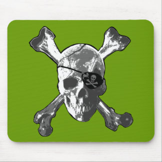 Jolly Roger Crossbones Mouse Pad