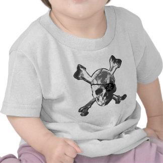 Jolly Roger Crossbones T-shirts
