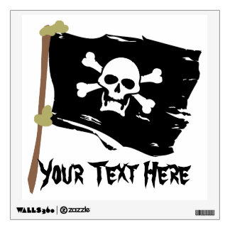 Jolly Roger - Customizable Wall Decal