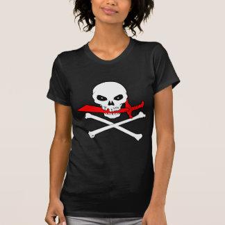 Jolly Roger(Cutlass)Ladies Dark T-Shirt