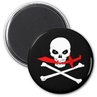 Jolly Roger(cutless) Magnet