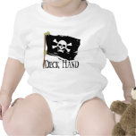 Jolly Roger Deck Hand Baby Bodysuits