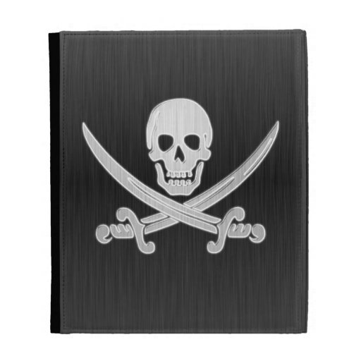 Jolly Roger Deluxe iPad Folio Cases