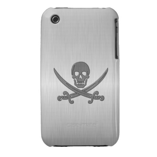 Jolly Roger Deluxe iPhone 3 Case