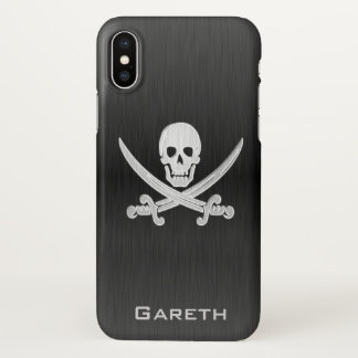 Jolly Roger Deluxe Name Template iPhone X Case