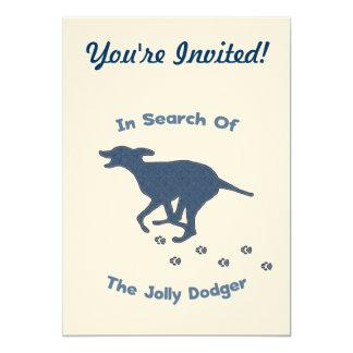 Jolly Roger Dodger Dog Card