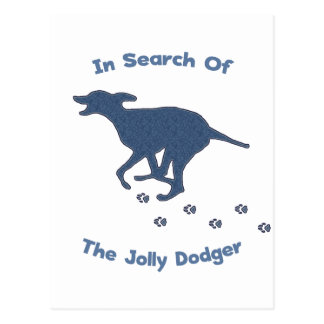 Jolly Roger Dodger Dog Postcard