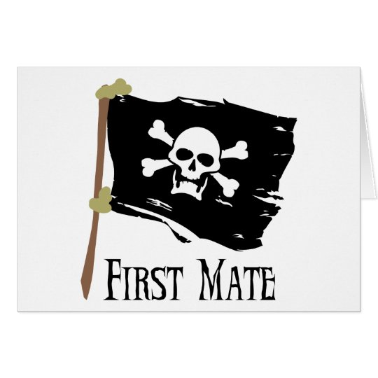 Jolly Roger First Mate Card