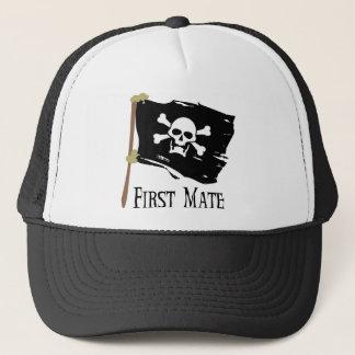 Jolly Roger First Mate Trucker Hat