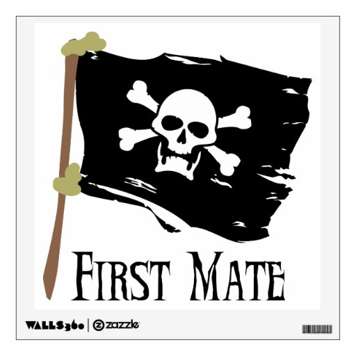 Jolly Roger - First Mate Wall Graphic