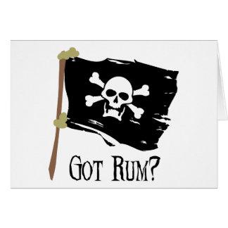 Jolly Roger Got Rum Card