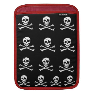Jolly Roger I Pad Cover Sleeve For iPads