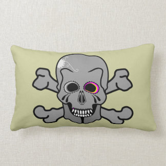 Jolly roger lumbar pillow