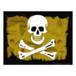 Jolly Roger Map #3 Invitation