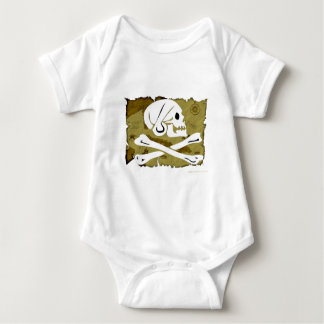 Jolly Roger Map #4 Baby Bodysuit