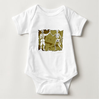 Jolly Roger Map  #8 Baby Bodysuit