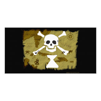 Jolly Roger Map  #9 Picture Card