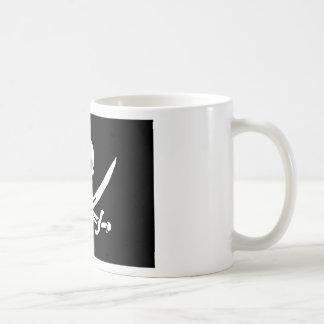 Jolly Roger of Calico Jack Rackham (BLACK) Coffee Mug