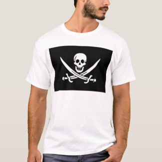 Jolly Roger of Calico Jack Rackham (BLACK) T-Shirt