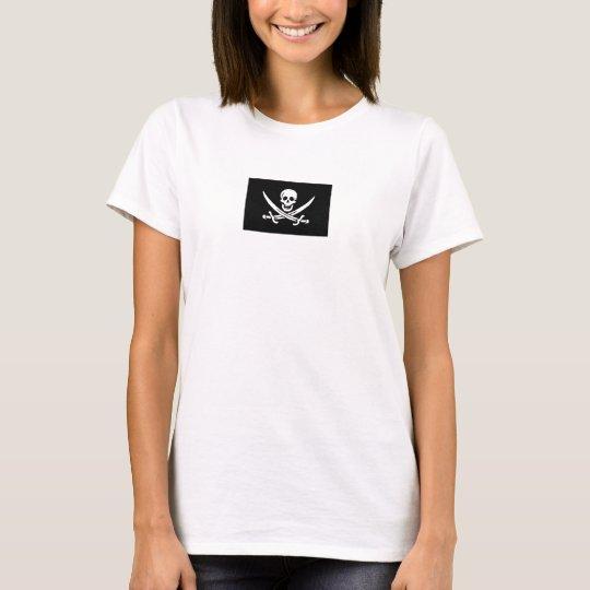 Jolly Roger of Calico Jack Rackham (BLACK) T-Shirt