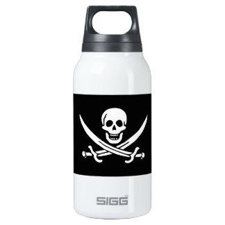 Jolly Roger of Calico Jack Rackham (BLACK) Thermos Bottle