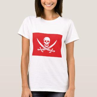Jolly Roger of Calico Jack Rackham (RED) T-Shirt