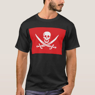 Jolly Roger of Calico Jack Rackham (RED) T-Shirt