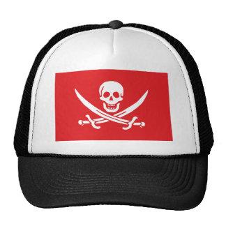 Jolly Roger of Calico Jack Rackham (RED) Trucker Hat